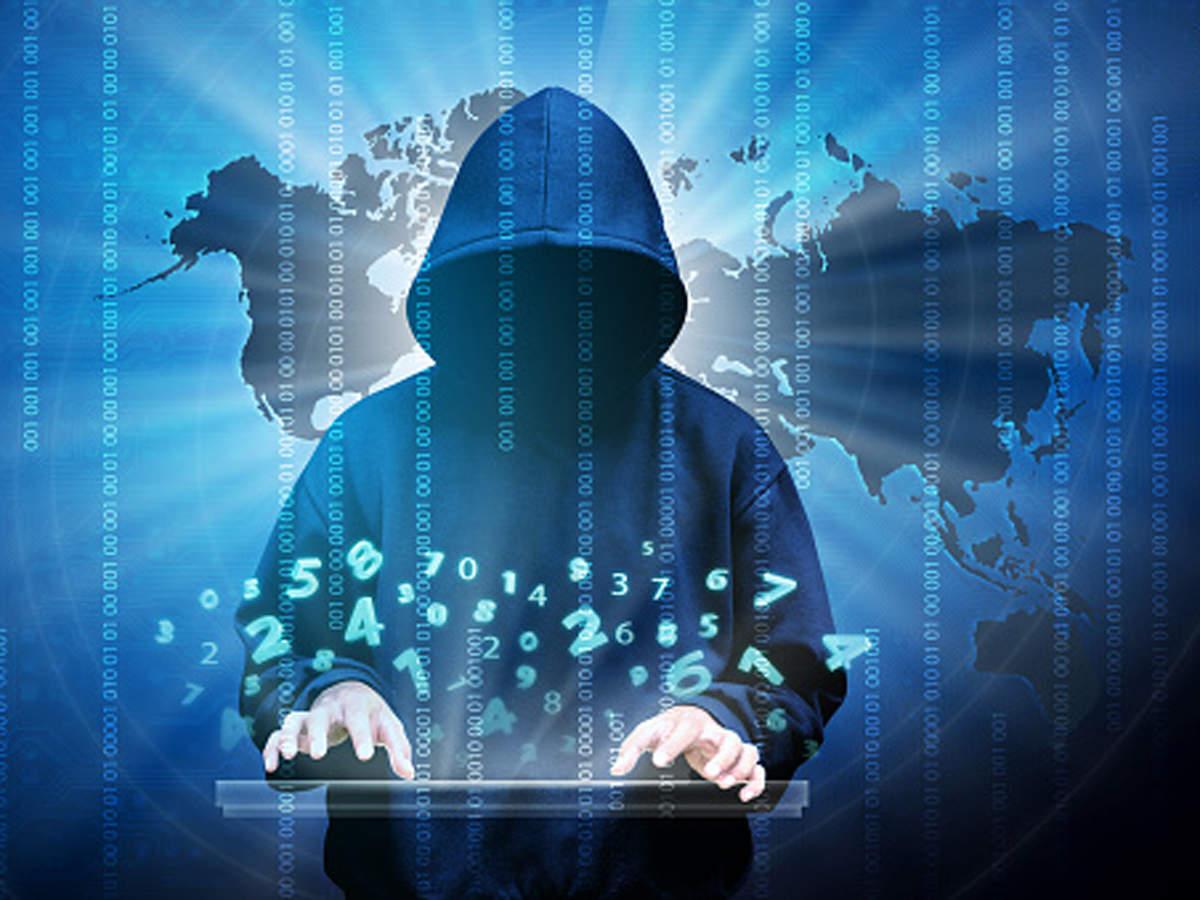 Hình ảnh Hacker bay múa những con số