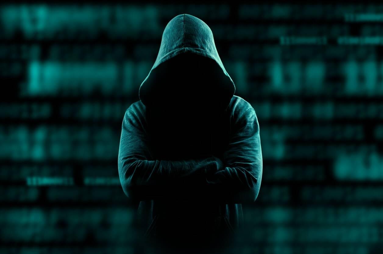 Hình ảnh Hacker dáng đứng cực ngầu