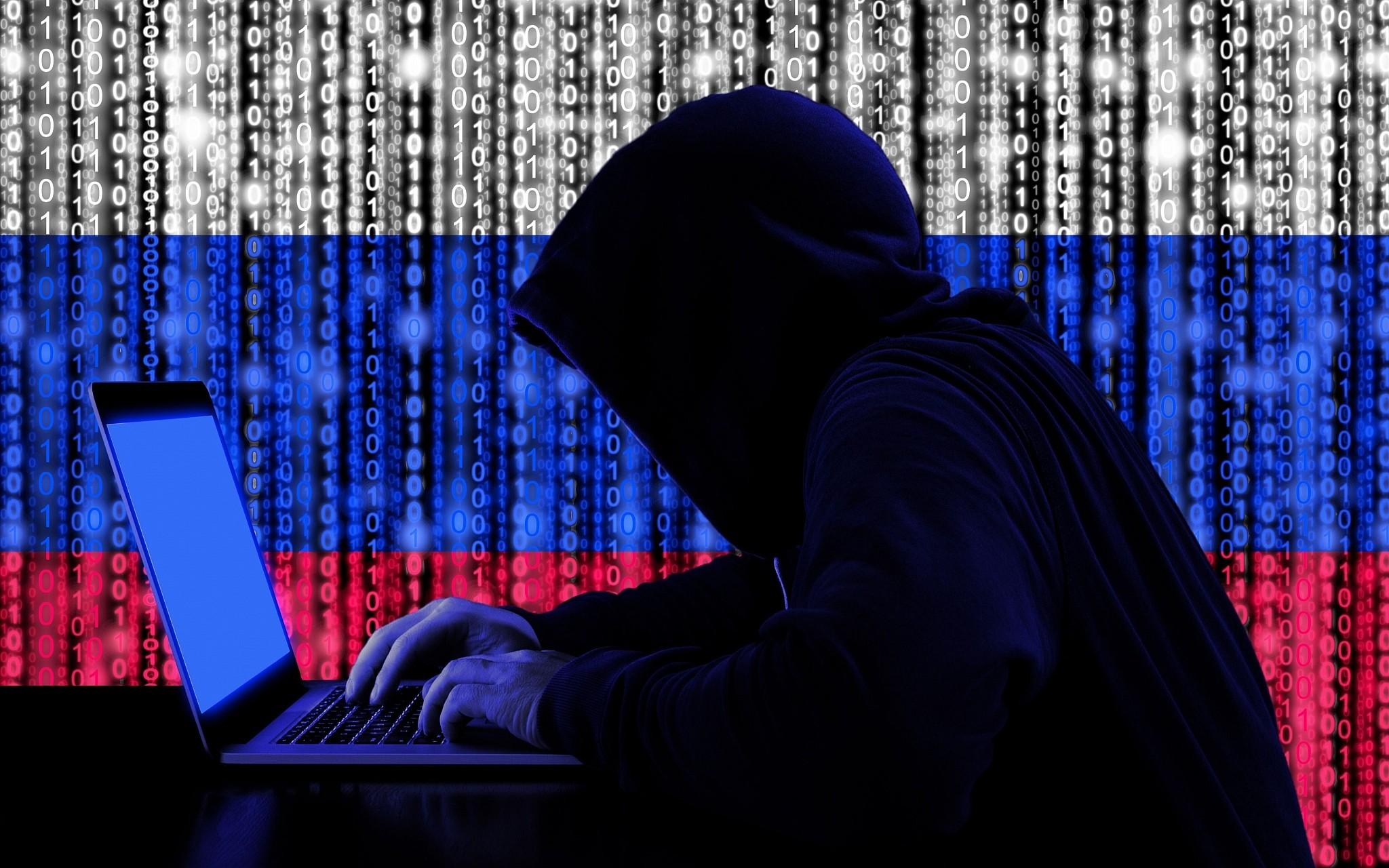 Hình ảnh Hacker đẹp trắng xanh đỏ đen