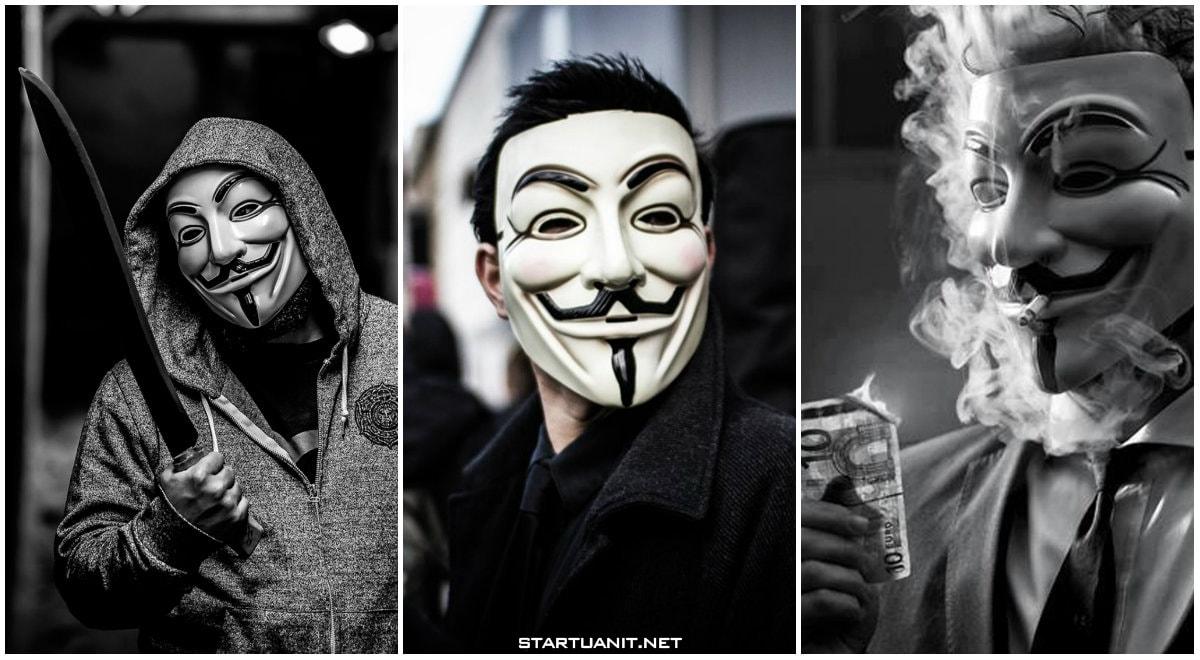 Hình ảnh Hacker mặt nạ ngầu cực đẹp