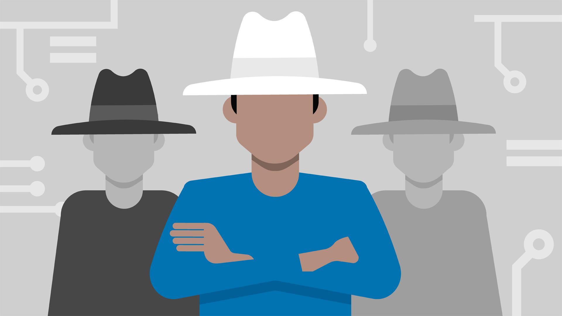 Hình ảnh Hacker nhóm ba người cực đẹp