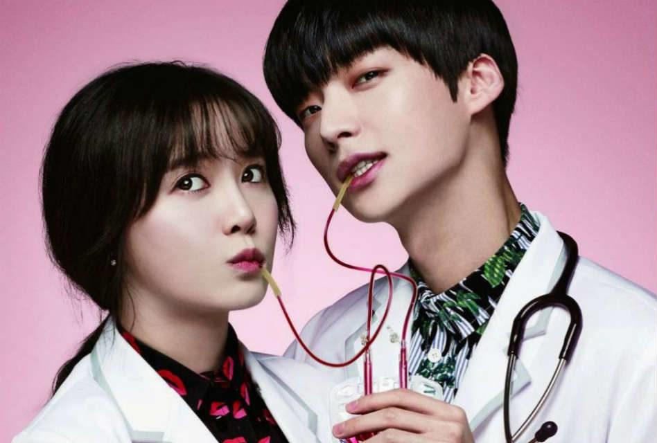 Hình ảnh lãng mạn cặp đôi bác sĩ bên nhau