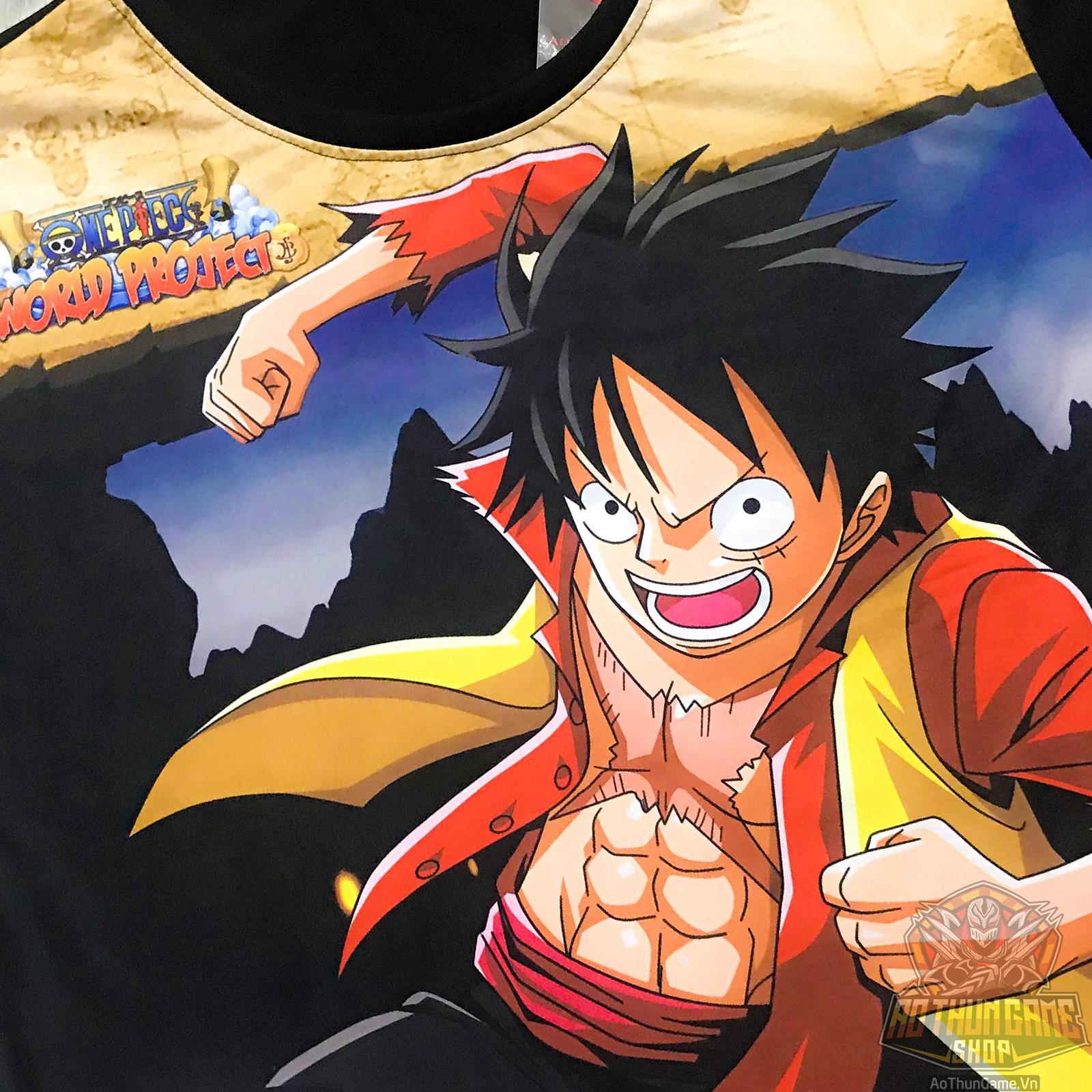 Hình ảnh Luffy cực ngầu vung nắm đấm