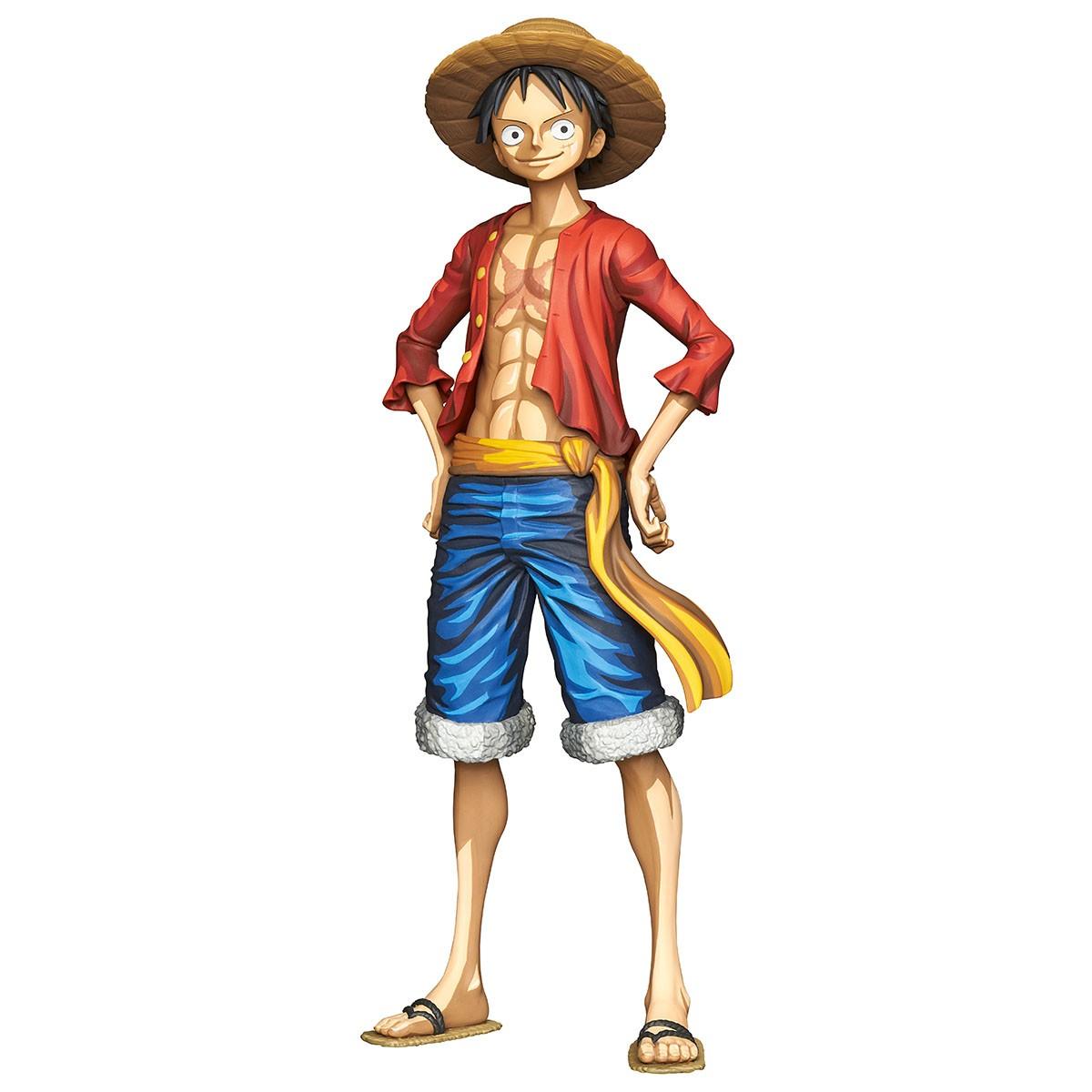 Hình ảnh Luffy đứng chống hông