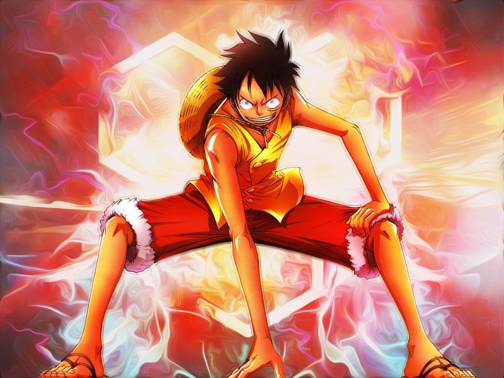 HÌnh ảnh Luffy hạ thế thủ cực đẹp