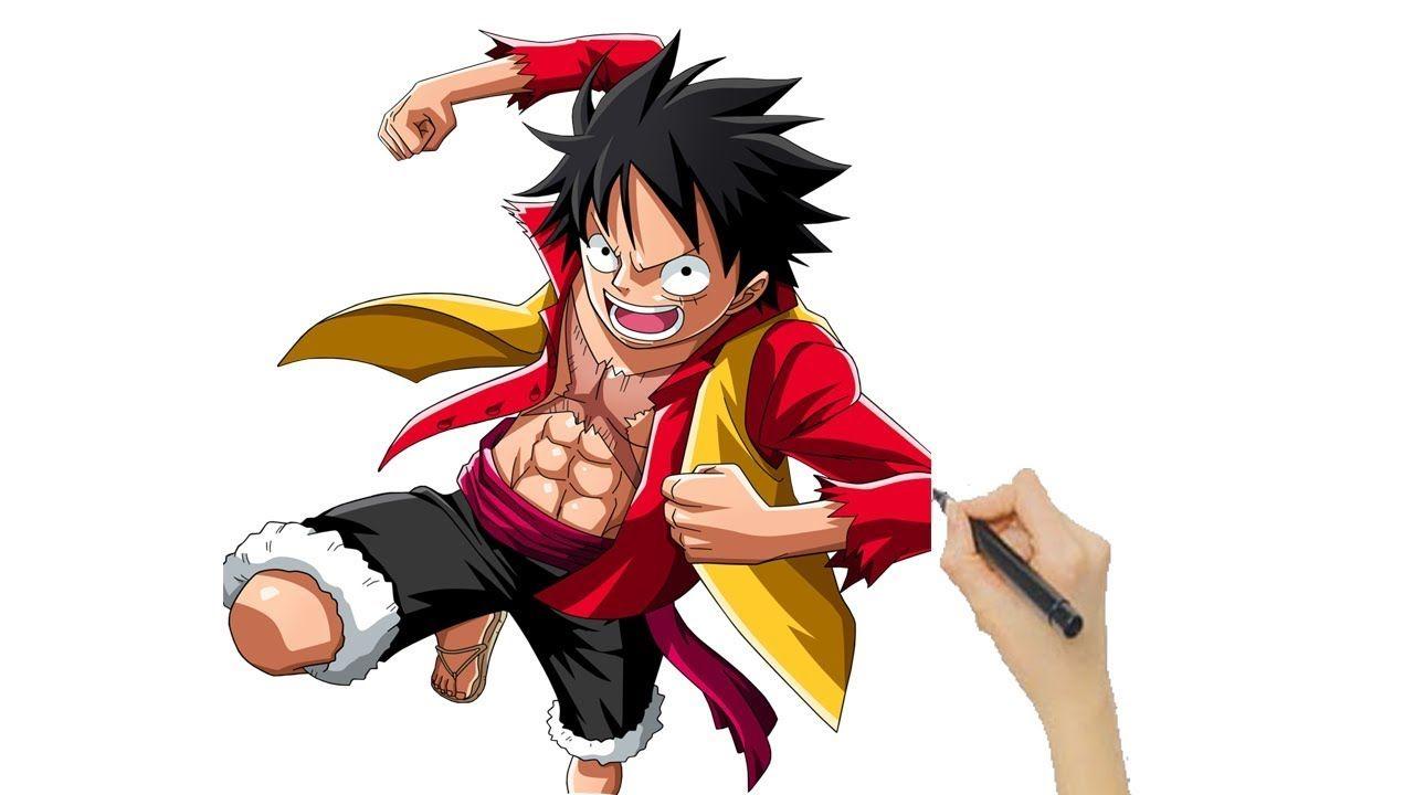 HÌnh ảnh vẽ Luffy rất ngầu