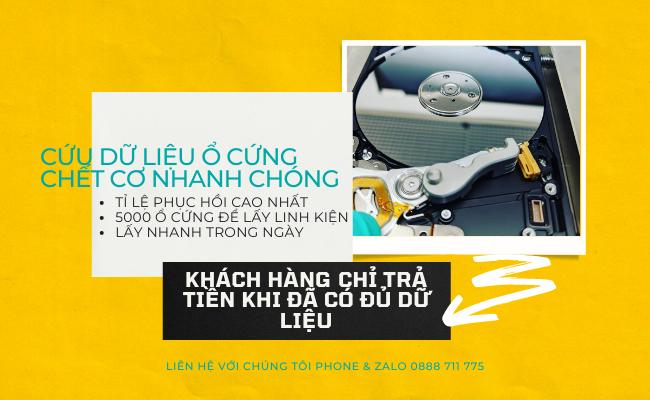 Võ  Nguyễn - Chuyên gia khôi phục dữ liệu ổ cứng hàng đầu